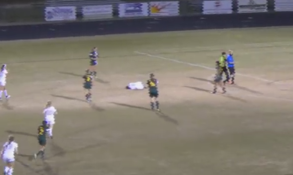 NC High School Girl Suspended After Vicious Hit On Soccer Field