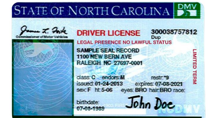 Prepare to show more proof when you renew your nc license for Nc division of motor vehicles driving log