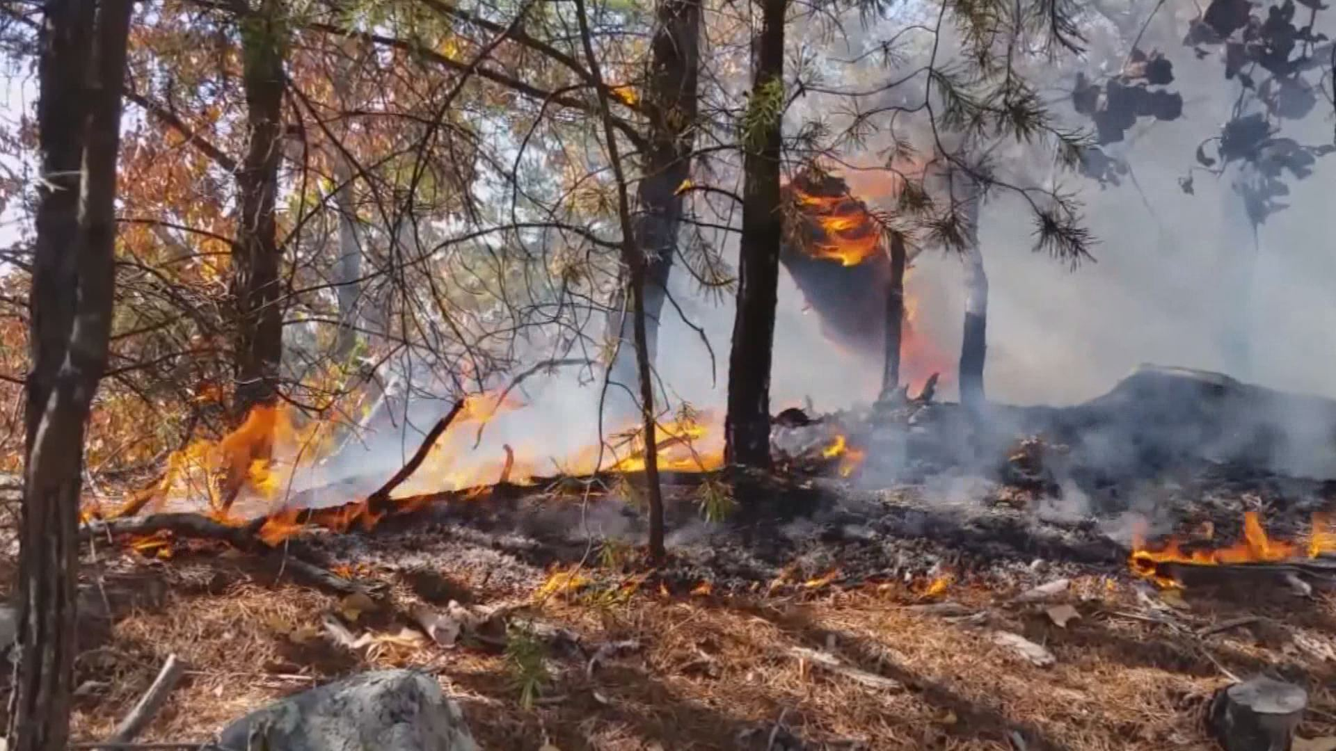 burn ban expanded is your county on the list wfmynews2 com