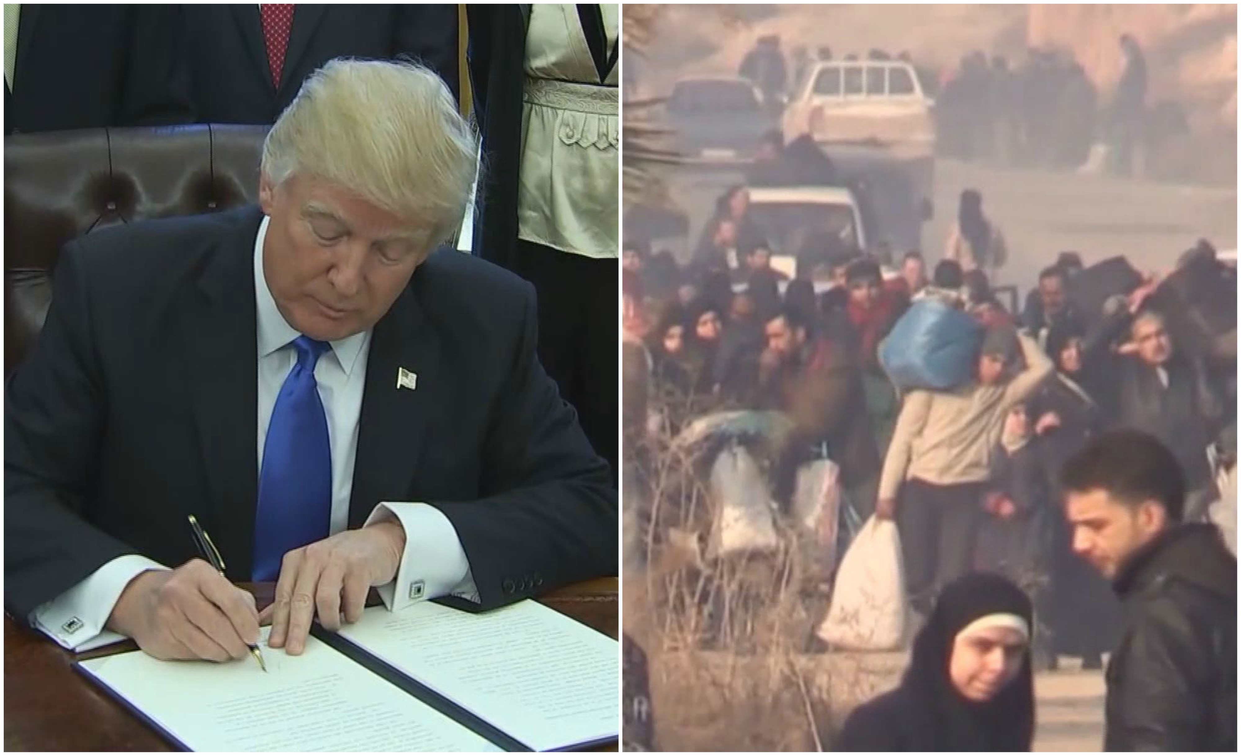 What President Trump's Executive Order Means For Refugees ...
