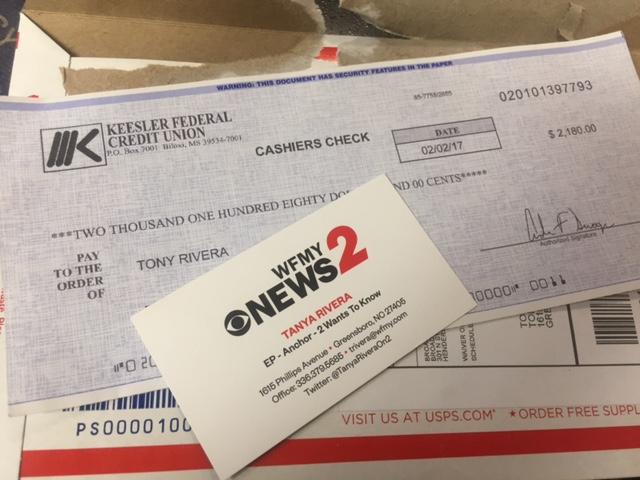 how to get fake checks