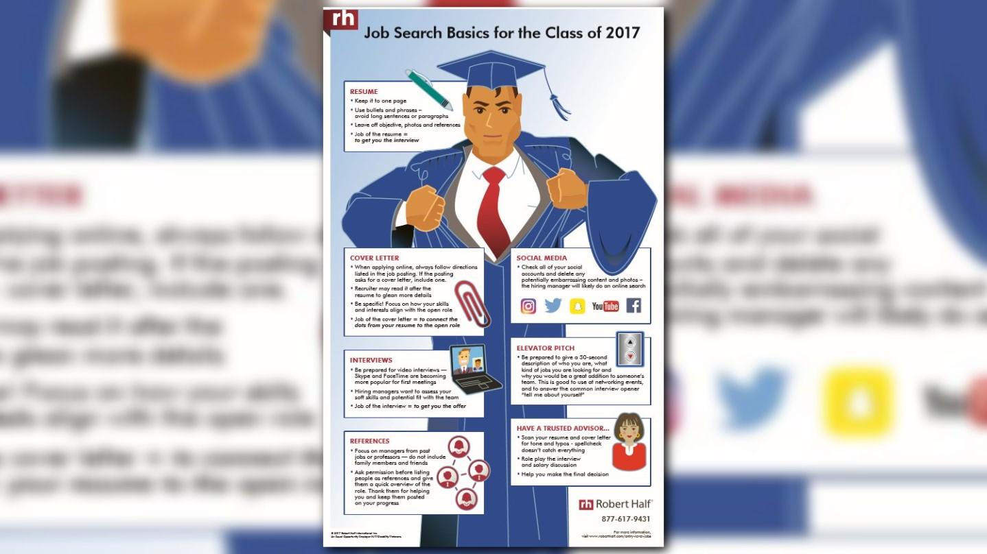 job search tips for 2017 graduates or any job seeker wfmynews2com - Job Searching Tips
