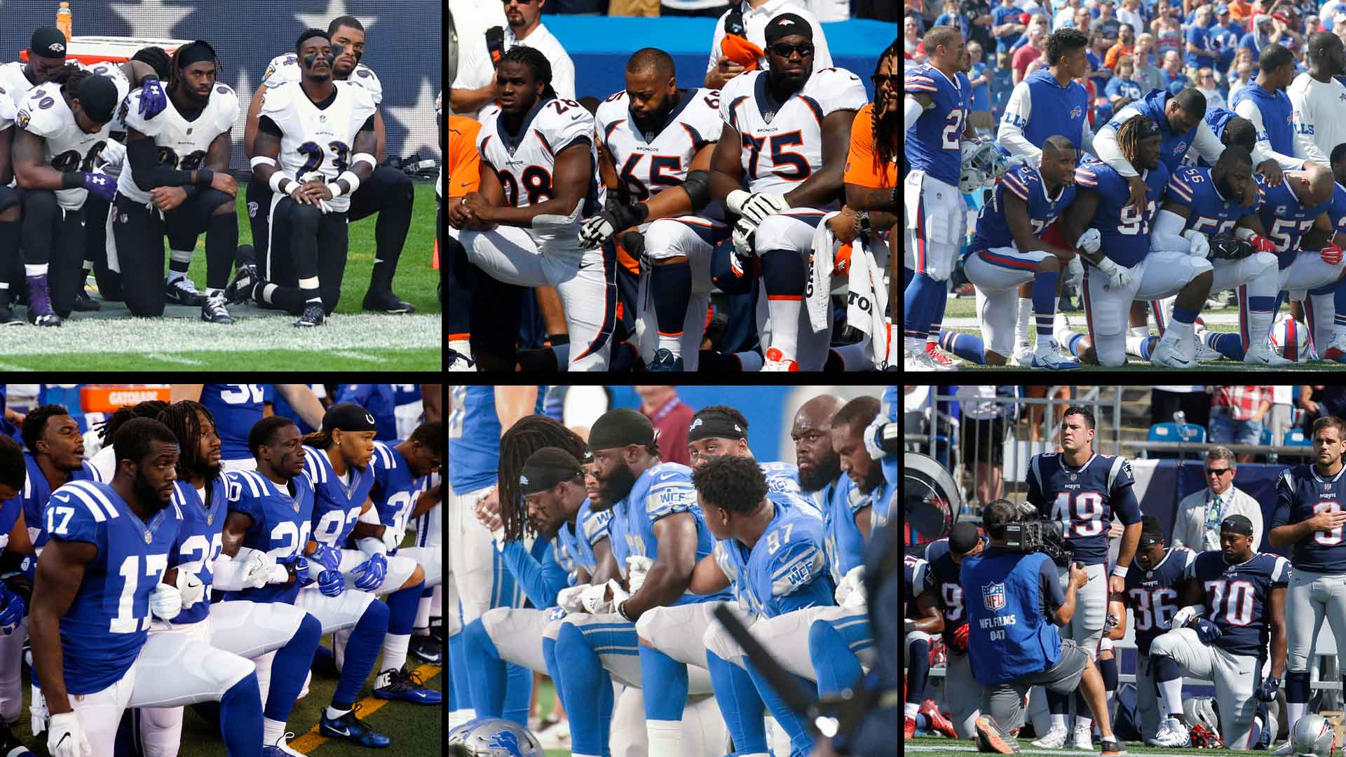 the play protests of the national football league players American taxpayers shelled out billions of dollars to build the stadiums that national football league players are now using to stage their kneel-down protests of the national anthem.