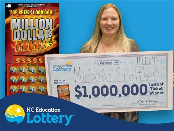 1 In A Million Nc Double Lottery Winner Wins 10 000